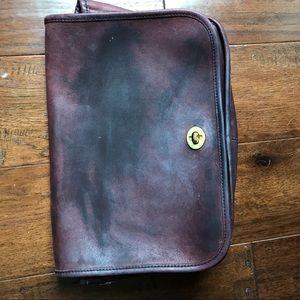 Vintage Coach Bag- No Straps-Crossbody